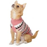 Ancol Muddy Paws Alpine Sweater Pink